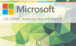SQL 10989 – ANALYZING DATA WITH POWERBI
